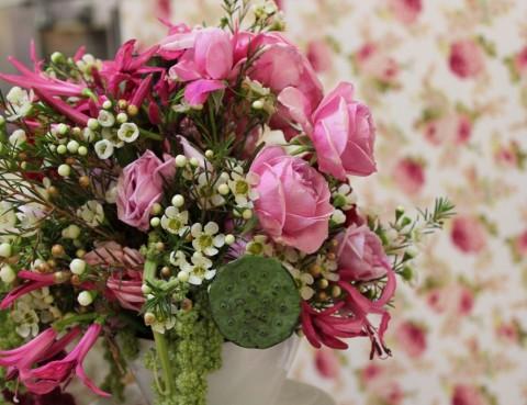 Aranjament floral de masa