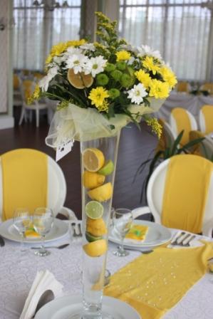 Aranjament floral nunta crizanteme